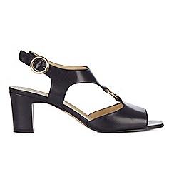 Hobbs - Navy 'Emily' block heel sandals