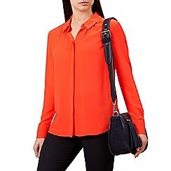 Hobbs - Red 'Calla' shirt