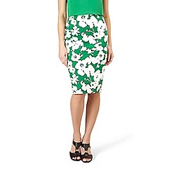 Hobbs - Bright green 'Evie' skirt