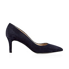 Hobbs - Dark Blue 'Grace' court shoes