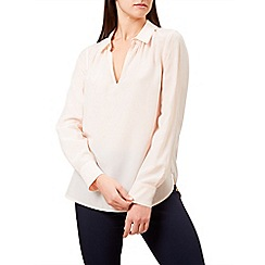 Hobbs - Pale pink 'Corinne' blouse