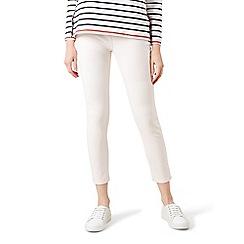 Hobbs - White 'Rivington' 7/8 jeans