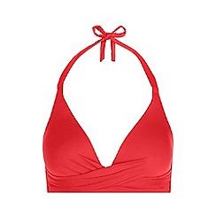 Hobbs - Red  Bella  Bikini Top