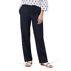 Hobbs - Navy 'Porthmeor' trousers