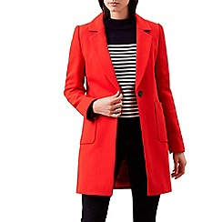 Hobbs - Red 'Camellia' coat