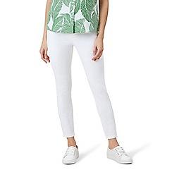Hobbs - White 'Rivington' jeans