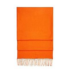 Hobbs - Orange 'Matilda' scarf