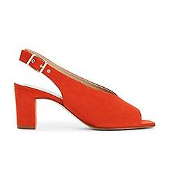 Hobbs - Red 'Kali' sandals