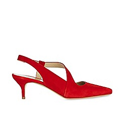 Hobbs - Red 'Amy' slingback sandals