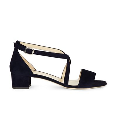 Hobbs - Navy 'amber' sandals Fashionable and eye-catching shoes
