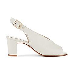 Hobbs - White 'Kali' sandals