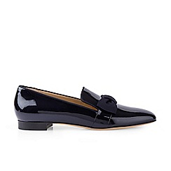 Hobbs - Navy 'Rene' flat loafers