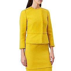 Hobbs - Yellow 'Alice' jacket