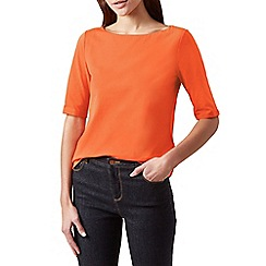Hobbs - Orange 'Paige' top
