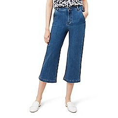 Hobbs - Mid blue 'Chrissy' crop jeans