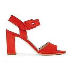 Hobbs - Red 'Rhian' sandals