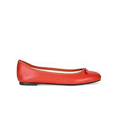 Hobbs - Red 'Flo' ballerinas