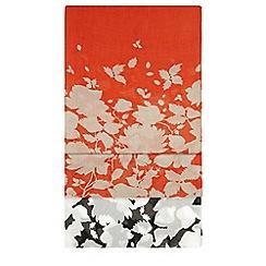 Hobbs - Orange 'Connie' scarf