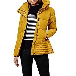 Hobbs - Yellow 'Leonie' puffer coat