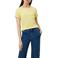 Hobbs - Yellow 'Pixie' t-shirt