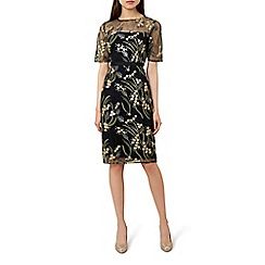 Hobbs - Multicoloured floral print 'Phoebe' knee length shift dress