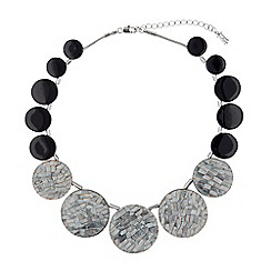 Hobbs - Grey 'Cynthia' necklace