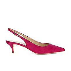 Hobbs - Dark pink 'Annie' shoes