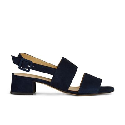 Hobbs - Navy 'claudia' sandals Fashionable and eye-catching shoes