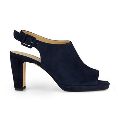 Hobbs - Navy 'gemma' sandal Fashionable and eye-catching shoes