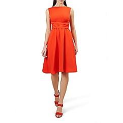 Hobbs - Orange 'Shanice' dress