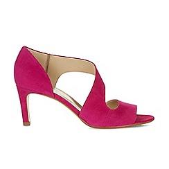 Hobbs - Dark pink 'Lexi' sandals