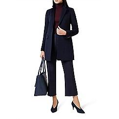 Hobbs - Navy 'tia' coat