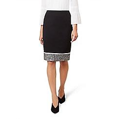 Hobbs - Black 'robyn' skirt
