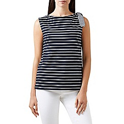 Hobbs - Navy 'Scarlett' top