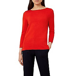 Hobbs - Bright red 'cesci' sweater