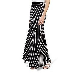 Hobbs - Navy 'Iris' maxi skirt