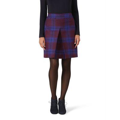 Hobbs   Maroon 'jerrie' Skirt by Hobbs
