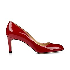 Hobbs - Red 'sophia' court shoes