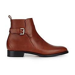 Hobbs - Tan 'Tia' jodphur boots