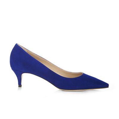 Hobbs - Blue 'Annie' court shoes