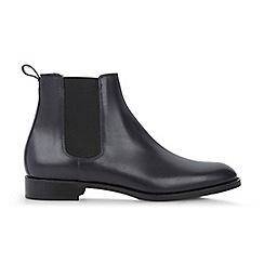 Hobbs - Navy 'Nicole' boots