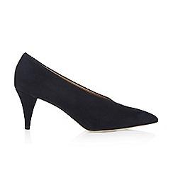 Hobbs - Navy 'Poppy' court shoes