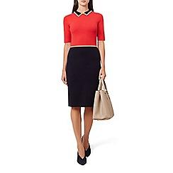 Hobbs - Multicoloured 'Christie' knee length jumper dress
