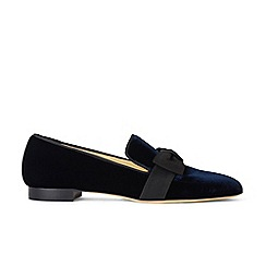 Hobbs - Navy 'Rene' flat shoes
