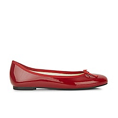 Hobbs - Red 'flo' ballerina shoes