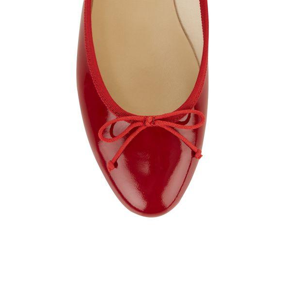 Hobbs Red 'flo' Hobbs ballerina shoes ballerina Red Red shoes Hobbs 'flo' BqBZrwE
