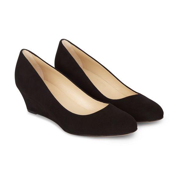 Hobbs shoes wedge Black Black 'hilary' Hobbs npzfaxqw