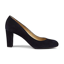 Hobbs - Navy 'sonia' court shoes