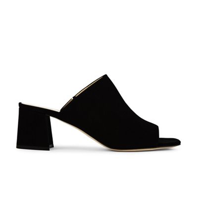Hobbs - Black 'Elle' mule Fashionable and eye-catching shoes