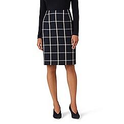 Hobbs - Navy 'Nora' skirt
